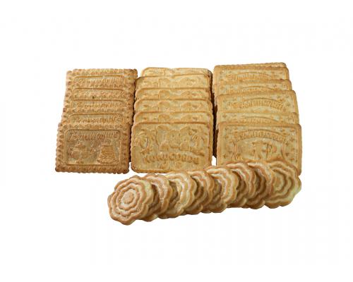 Печенье Ванильное, Гулливерия, Кокосовое, Ванильное к чаю 2,5 кг