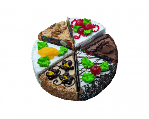 Торт Ассорти 1.0 кг